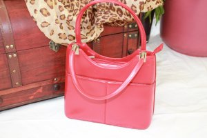 Morison kleine rote Citybag Made in Italy.