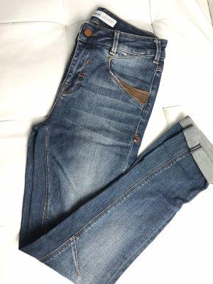 Mos Mosh Low Rise Jeans dark blue