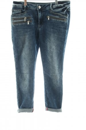 Mos Mosh 7/8 Length Jeans blue casual look