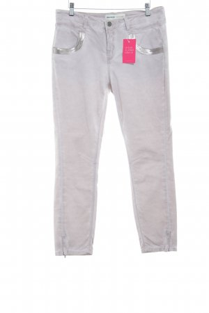Mos Mosh 7/8-jeans stoffig roze casual uitstraling