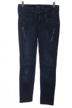 Mos Mosh Biker Jeans blue casual look