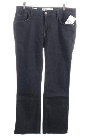 Mos Mosh Boot Cut Jeans dunkelblau Casual-Look