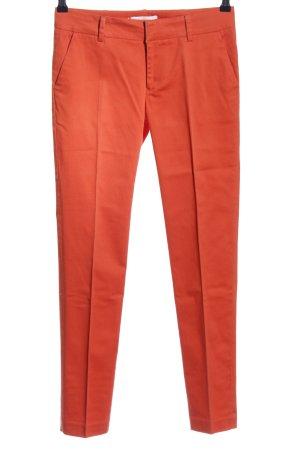 Mos Mosh Pantalone a pieghe rosso stile professionale