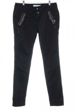 Mos Mosh Cargo Pants black biker look