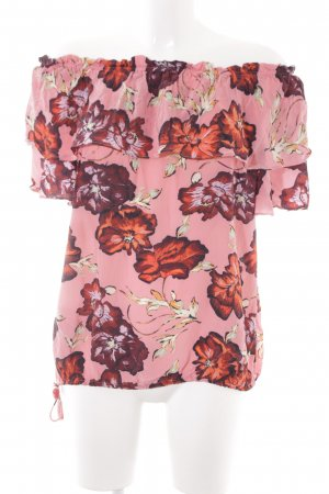 Mos Mosh Carmen-Bluse Blumenmuster Business-Look
