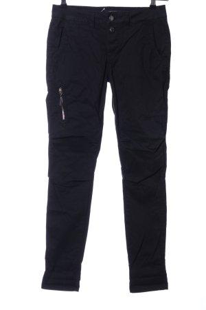 Mos Mosh Pantalon cinq poches noir style décontracté