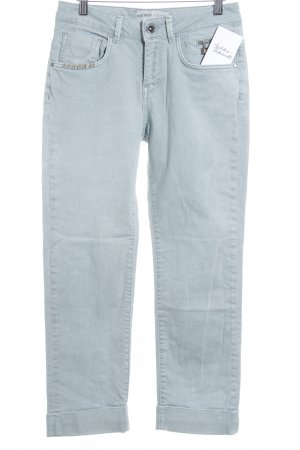 Mos Mosh Carrot Jeans baby blue flecked casual look
