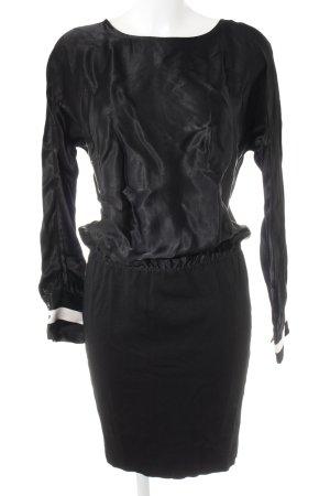 Mos Mosh Minikleid schwarz-wollweiß Elegant