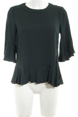 Mos Mosh Schlupf-Bluse grün-khaki Business-Look