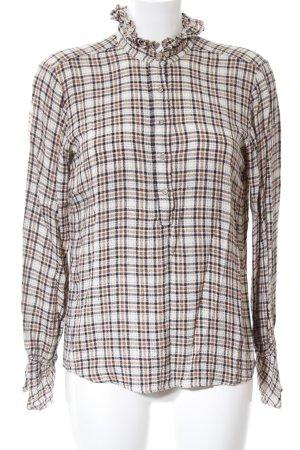 Mos Mosh Slip-over blouse geruite print casual uitstraling