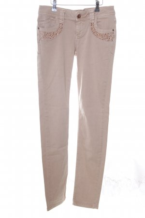 Mos Mosh Skinny Jeans nude Casual-Look