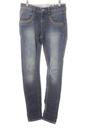 Mos Mosh Jeans skinny blu scuro stile casual