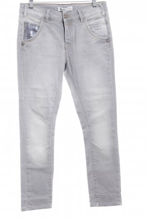 Mos Mosh Skinny Jeans grau Casual-Look