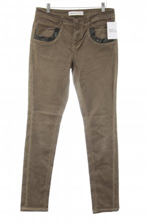 Mos Mosh Skinny Jeans olivgrün Casual-Look