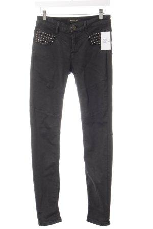 Mos Mosh Jeans skinny nero stile casual