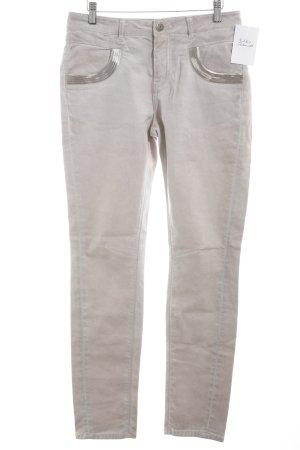 Mos Mosh Slim Jeans altrosa Casual-Look