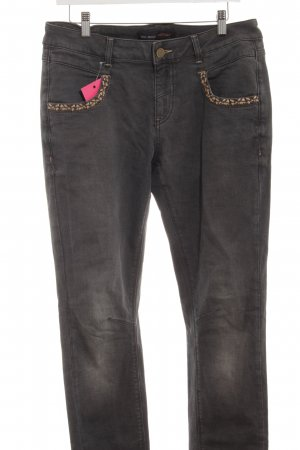 Mos Mosh Slim Jeans dunkelgrau Casual-Look