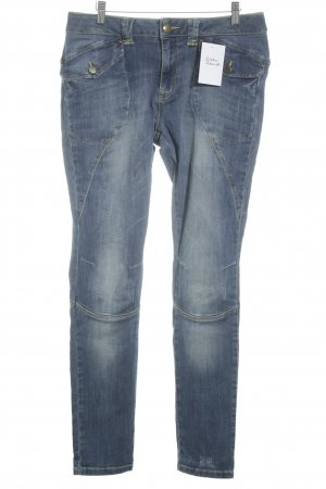 Mos Mosh Slim jeans korenblauw casual uitstraling