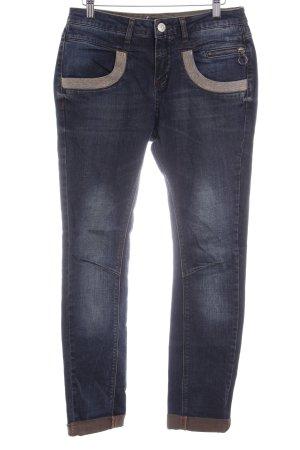 Mos Mosh Straight-Leg Jeans mehrfarbig schlichter Stil