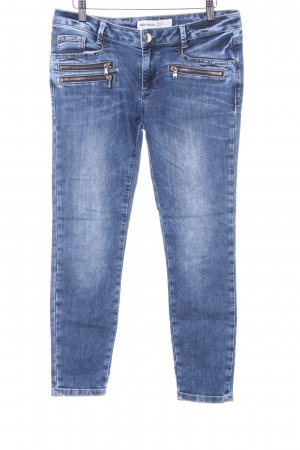 Mos Mosh Straight-Leg Jeans mehrfarbig Washed-Optik