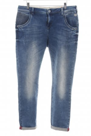 Mos Mosh Stretch Jeans blau Casual-Look