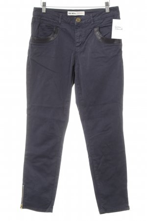 Mos Mosh Stretch Jeans dunkelblau Casual-Look
