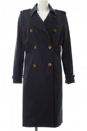 Mos Mosh Trenchcoat Punktemuster Casual-Look