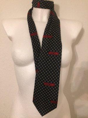 Moschino Corbata azul oscuro-rojo