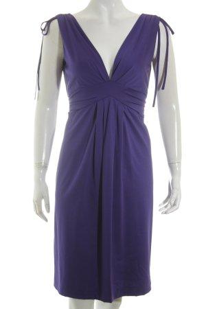 Moschino A-Linien Kleid dunkelviolett Elegant