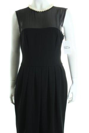 Moschino Abendkleid schwarz-hellbeige Eleganz-Look