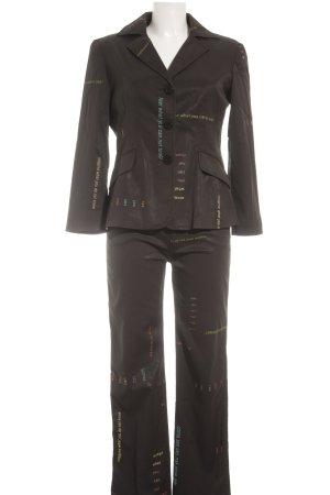Moschino Anzughose Schriftzug gedruckt Street-Fashion-Look