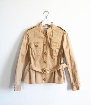 Moschino Safari Jacket beige cotton
