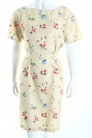 Moschino Blusenkleid Blumenmuster Retro-Look