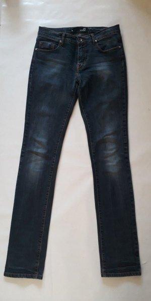 Moschino Bootcut blau Jeans gerade geschnitten stonewashed used Look Gr W25 dt 36 wie Neu
