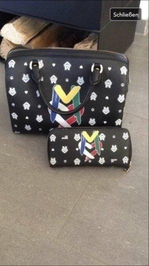Moschino Bowling Tasche inkl. Geldbörse