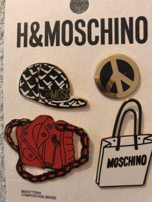 Moschino Broschen Set ( letzter Preis )