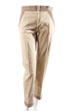 Moschino Bundfaltenhose beige