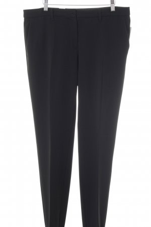 Moschino Bundfaltenhose schwarz Business-Look