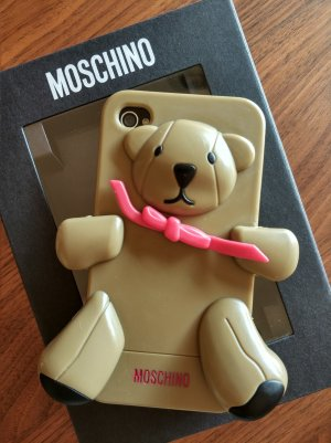 MOSCHINO case Hülle iphone 4/4s Teddy + Beauty-Überraschung*