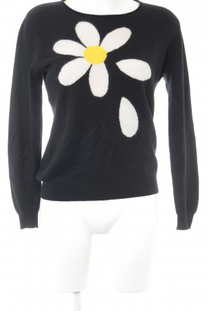 Moschino Cheap and Chic Cashmerepullover Blumenmuster Casual-Look