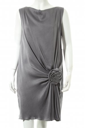 Moschino Cheap and Chic Cocktailkleid grau Eleganz-Look