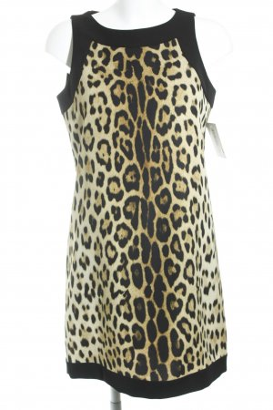 Moschino Cheap and Chic Etuikleid Leomuster Animal-Look
