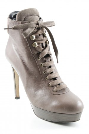 Moschino Cheap and Chic High Heels hellbraun Elegant