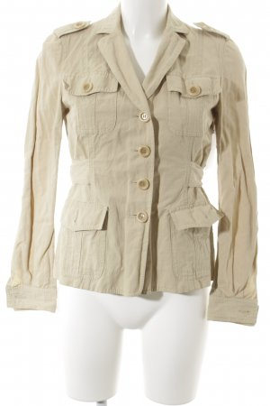 Moschino Cheap and Chic Kurz-Blazer beige Casual-Look