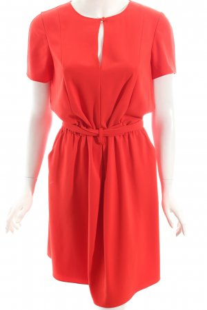 Moschino Cheap and Chic Kurzarmkleid rot Eleganz-Look