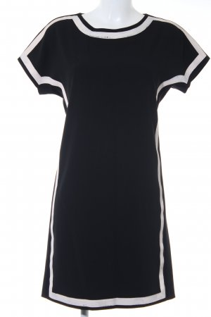 Moschino Cheap and Chic Kurzarmkleid schwarz-nude Casual-Look