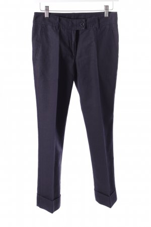 Moschino Cheap and Chic Leinenhose dunkelblau