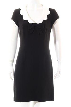 Moschino Cheap and Chic Minikleid schwarz-weiß 60ies-Stil