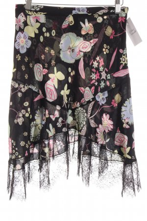 Moschino Cheap and Chic Seidenrock florales Muster Casual-Look