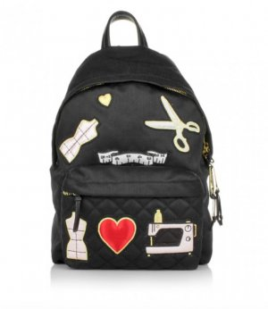 Moschino cheap and chic Textile Sew Backpack